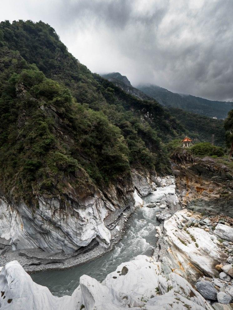 Paysage au niveau du pont Cimu - Gorges de Taroko