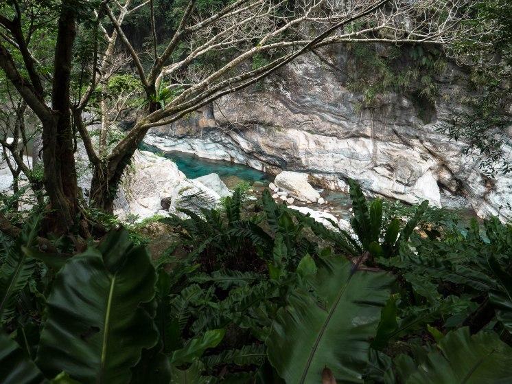 Sentier shakadang - gorges de Taroko