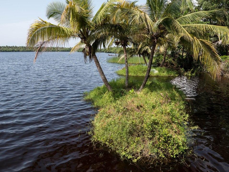 vue sur la lagune depuis bab's dock