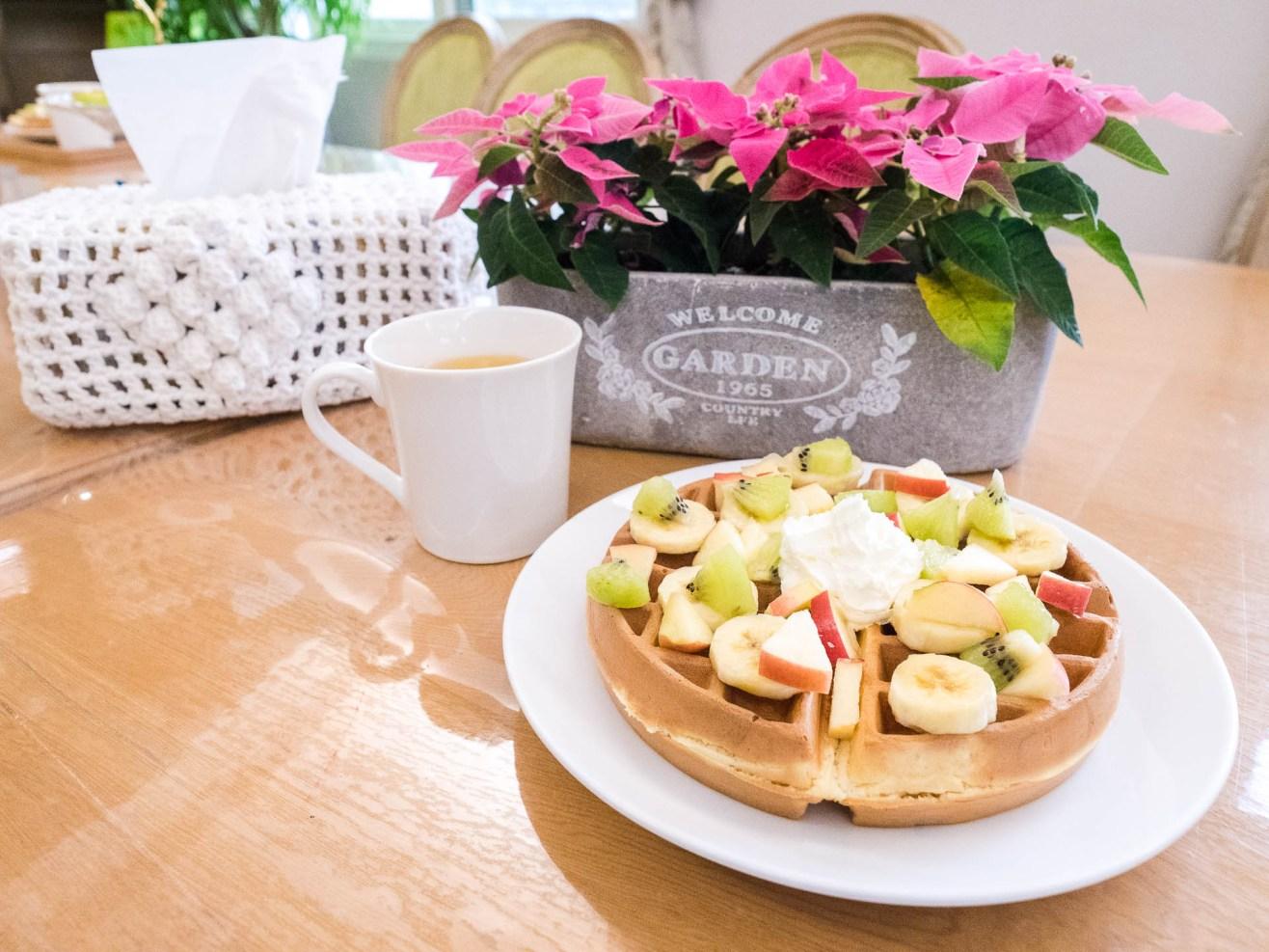 Hôtel Glenwood Hualien petit déjeuner