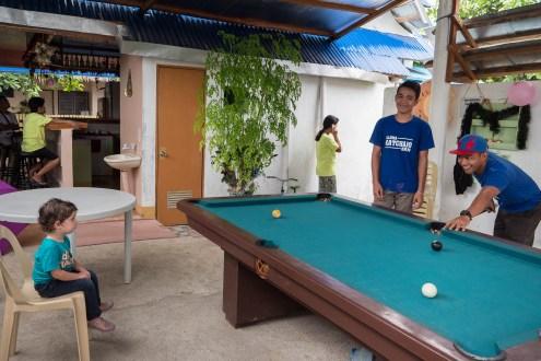 Panglao hotel billard