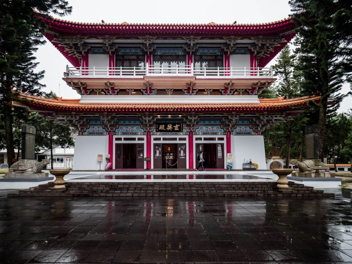 Sun moon lake temple