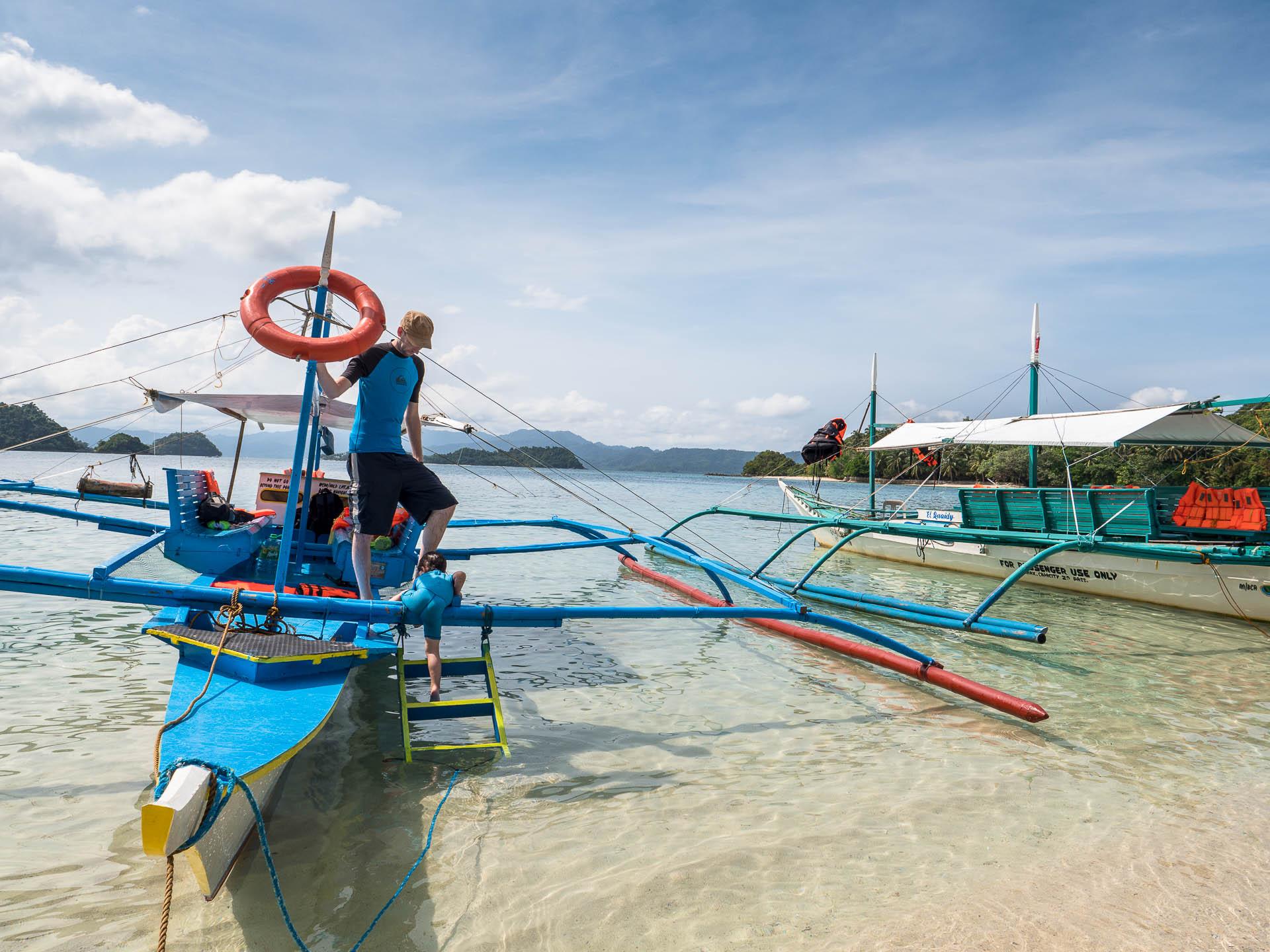Port barton plage bangka