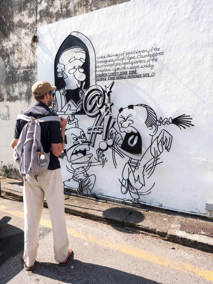 georgetown street art seb