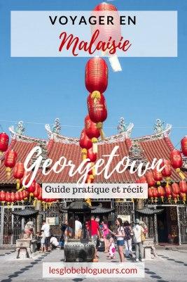 découvrir georgetown, son street art, ses temples bouddhistes et toute l'histoire de l'immigration chinoise et indienne. #Malaisie