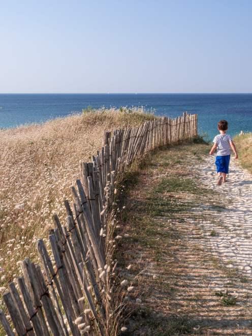 Audier chemin plage bis
