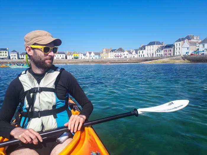 Faire du Kayak sur l'île de Sein