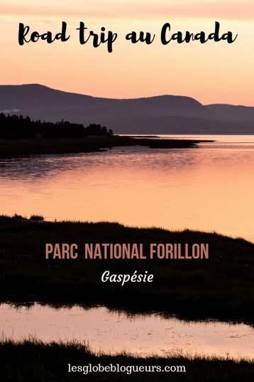 guide pratique parc national de Forillon