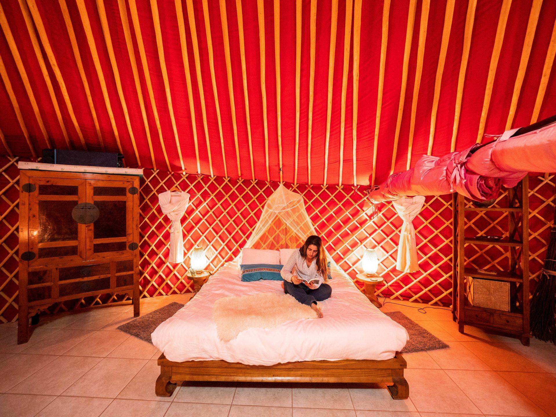 eco yurt royale finca de arrieta lanzarote canaria