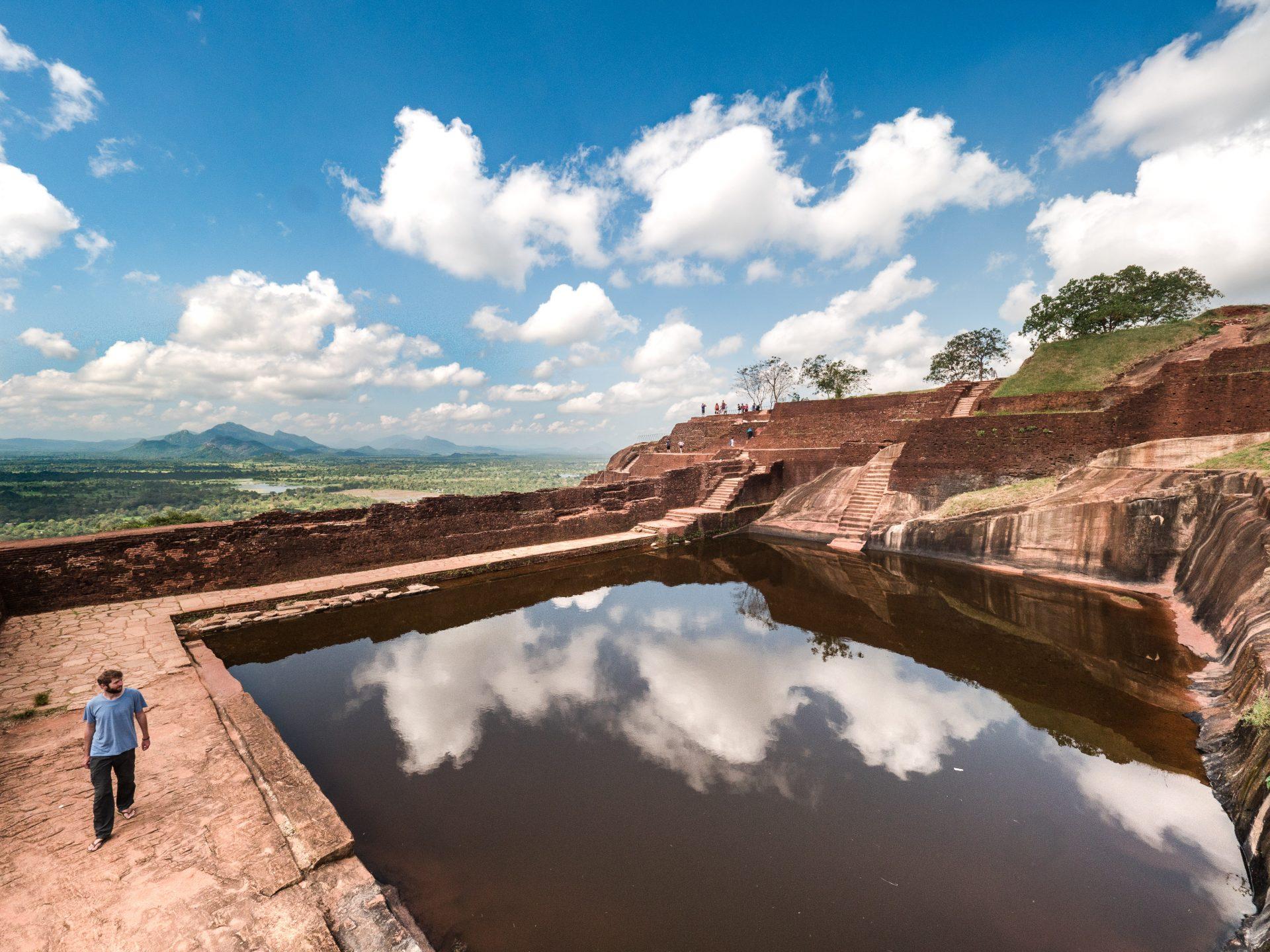 Sigiriya rocher du lion sri lanka