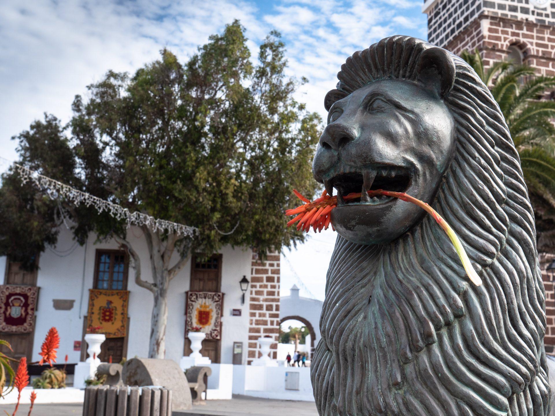 village de teguise à Lanzarote canaries