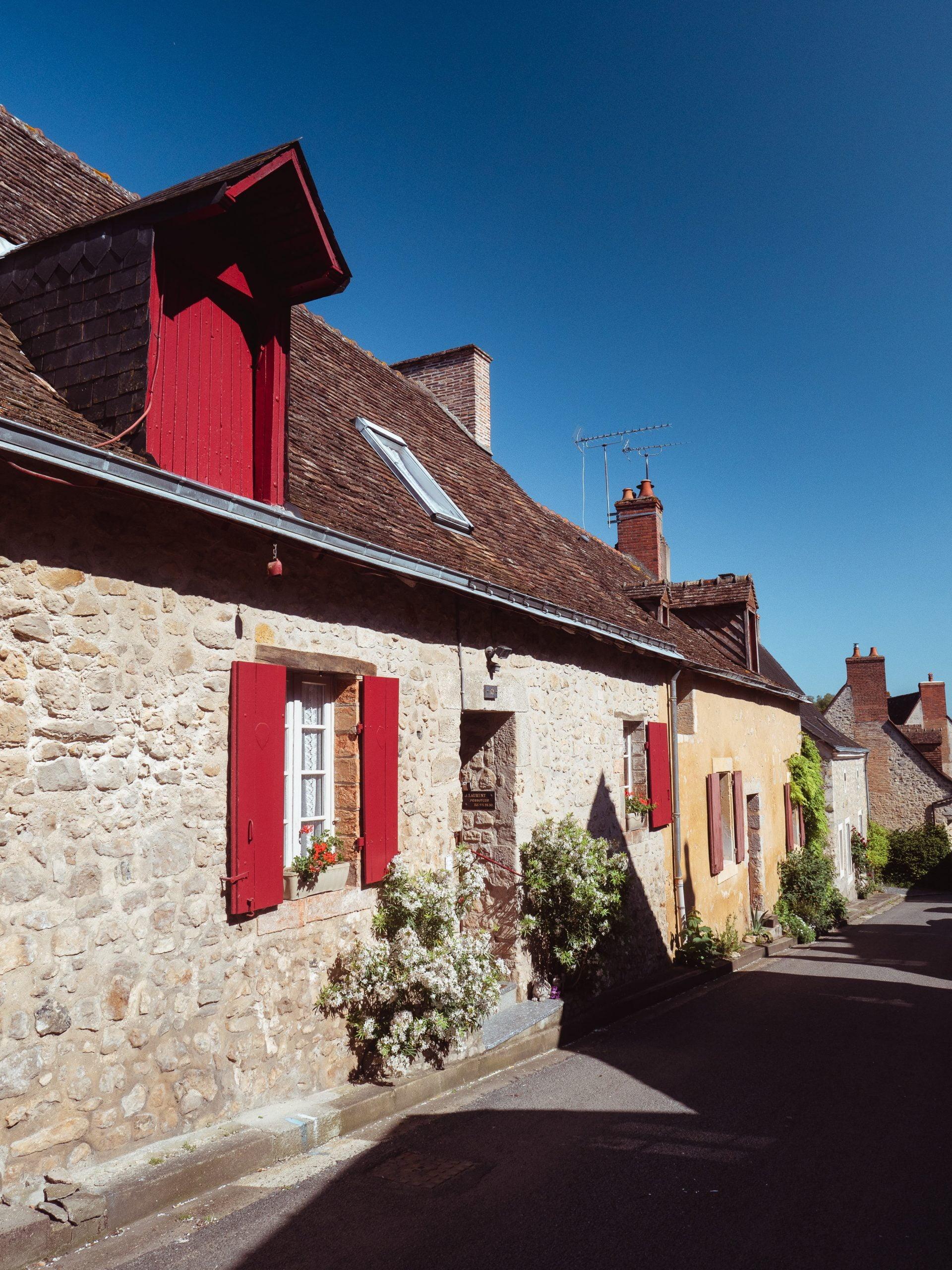 village de parcé sur sarthe ruelle