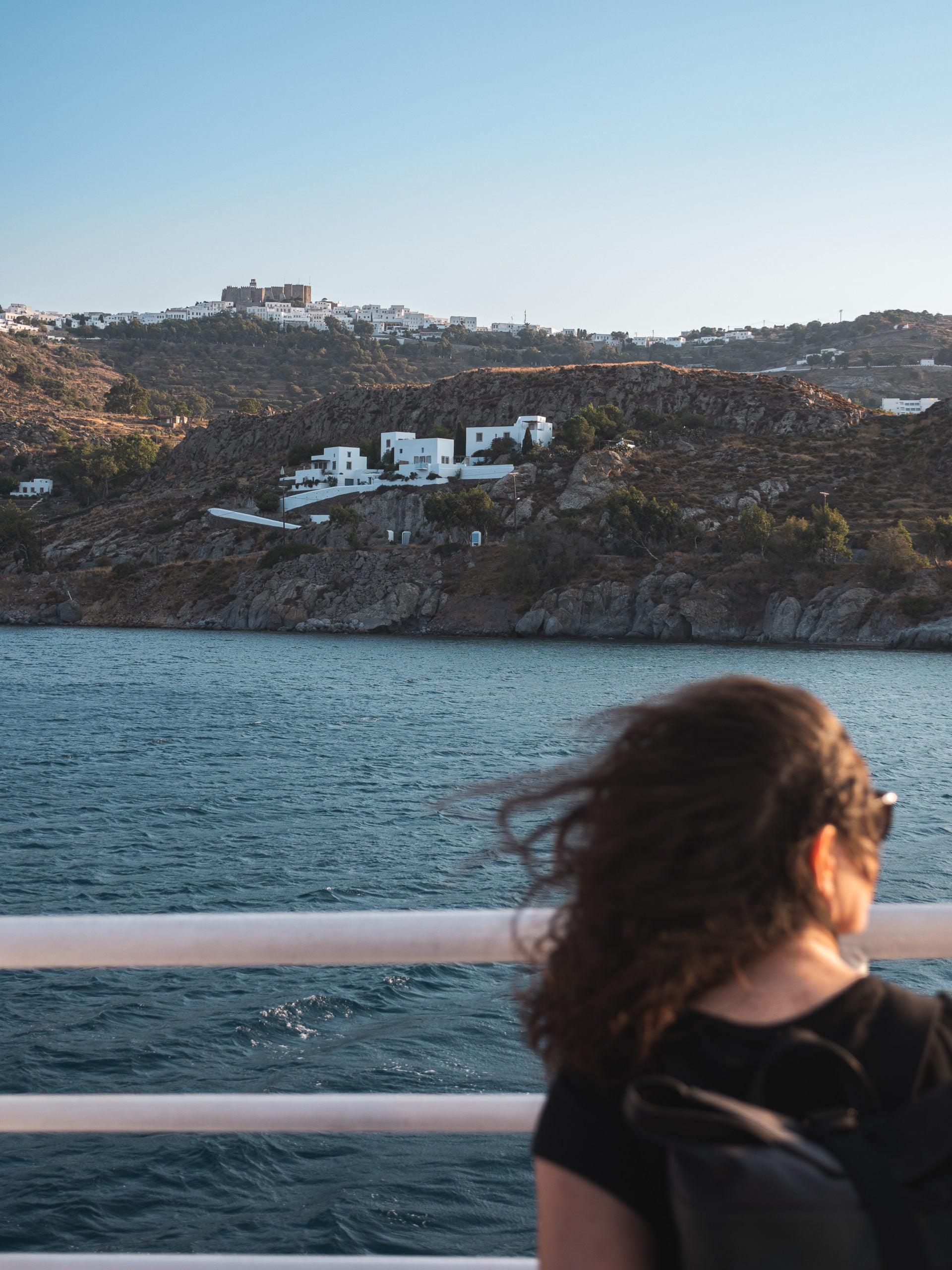 ferry patmos