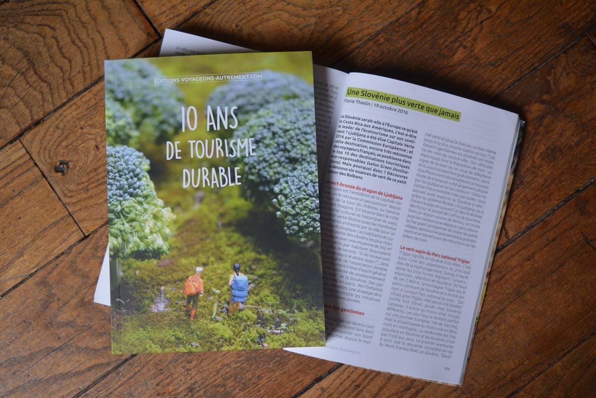 livre 10 ans tourisme durable