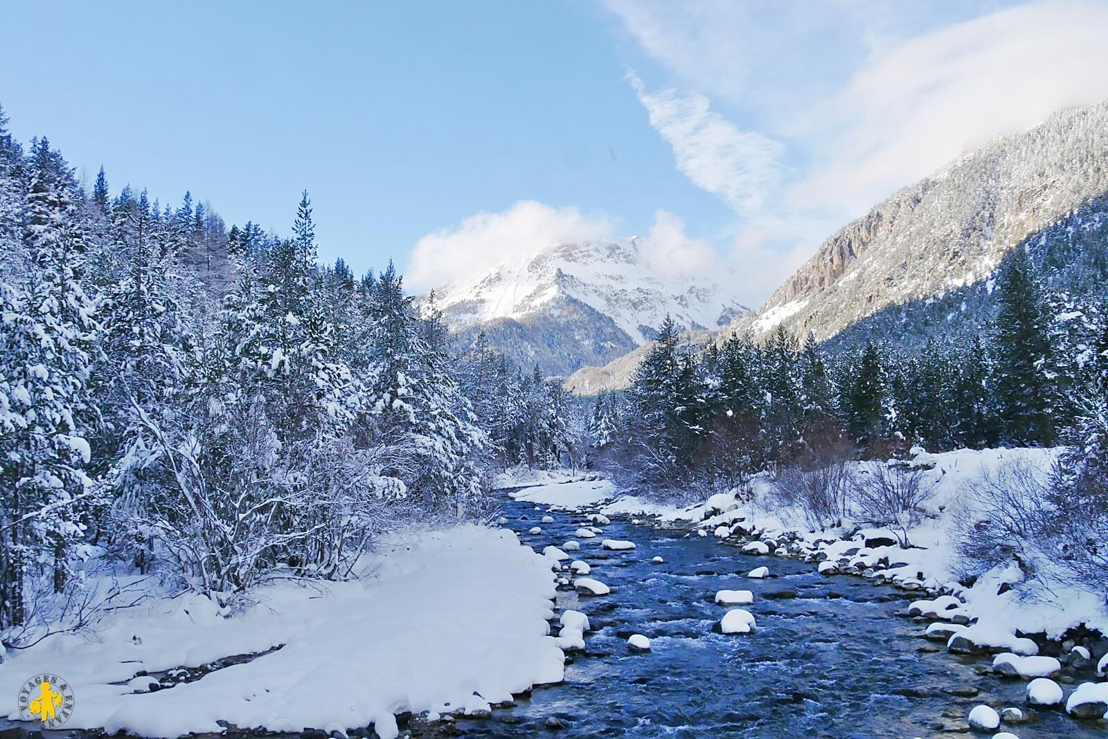 Visite des Hautes Alpes, vallée de la clarée