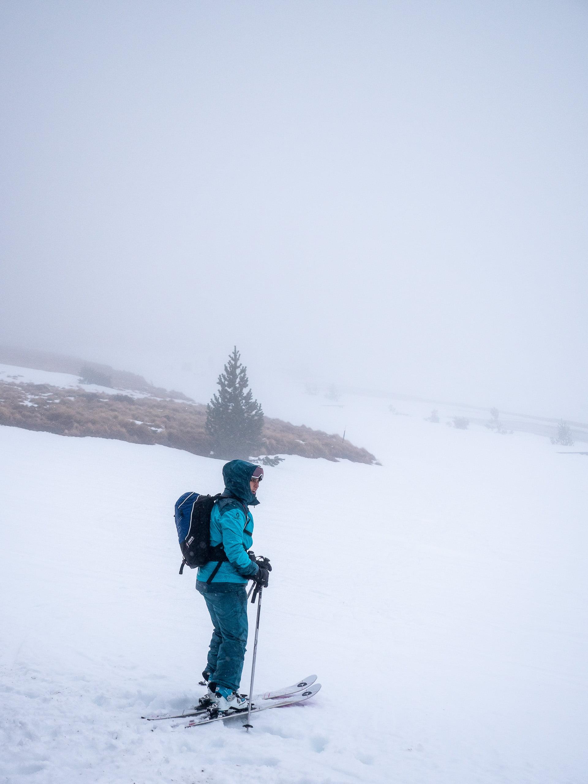 Ski de rando ax les thermes