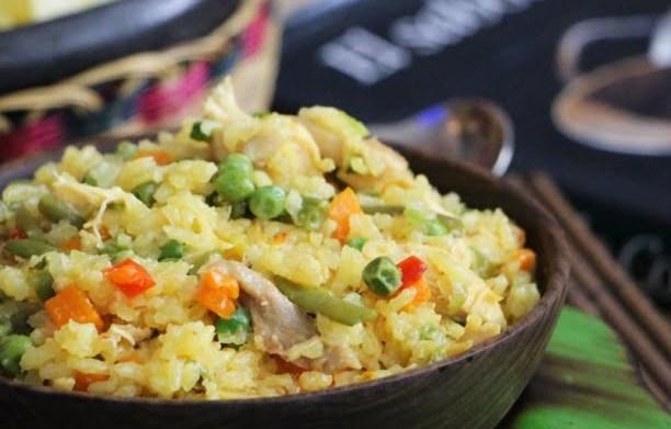 Arroz Con Pollo (Riz au poulet colombien)