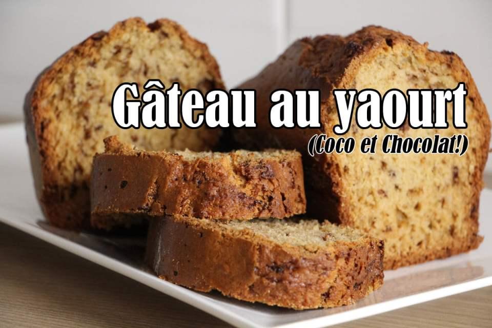 Gâteau au yaourt (Coco et Chocolat)