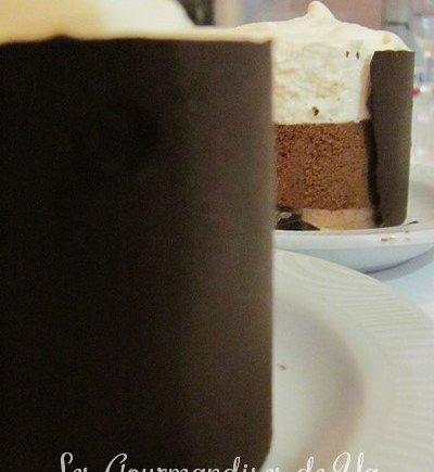 Duos de mousses chocolats, pâte de cookies et croquant chocolat noir LGY