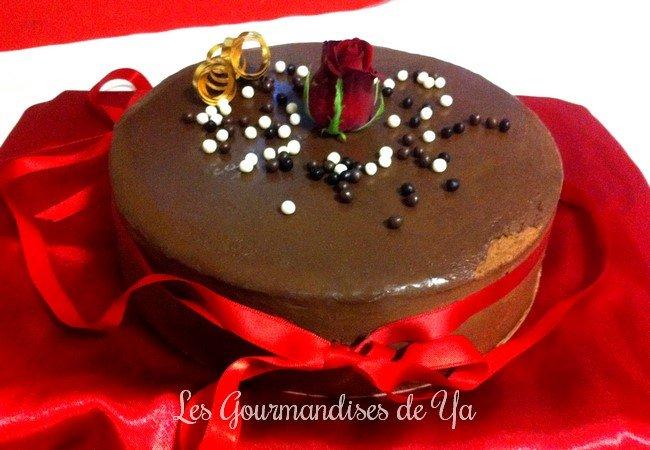 Entremet choco-noisette et caramel beurre salé LGY