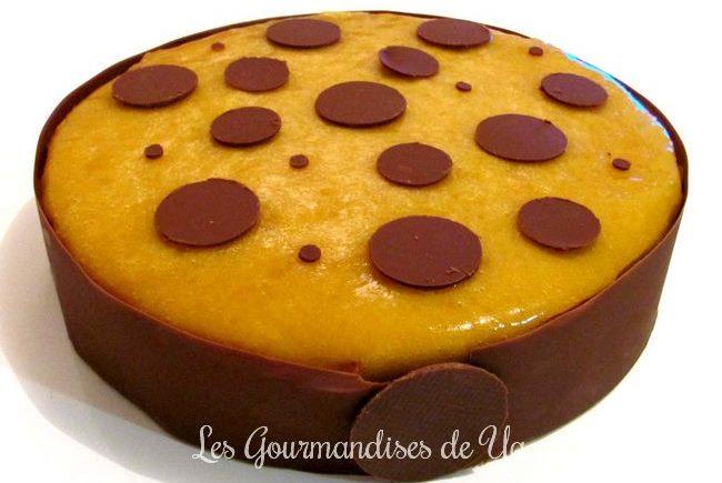 Entremets chocolat au lait - passion LGY
