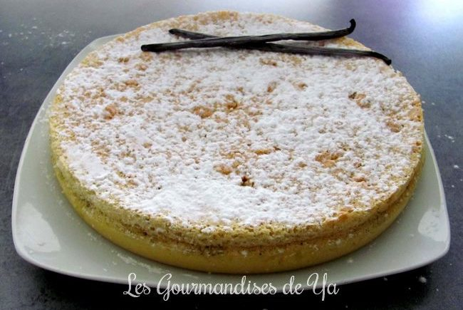Gâteau magique à la vanille LGY 01