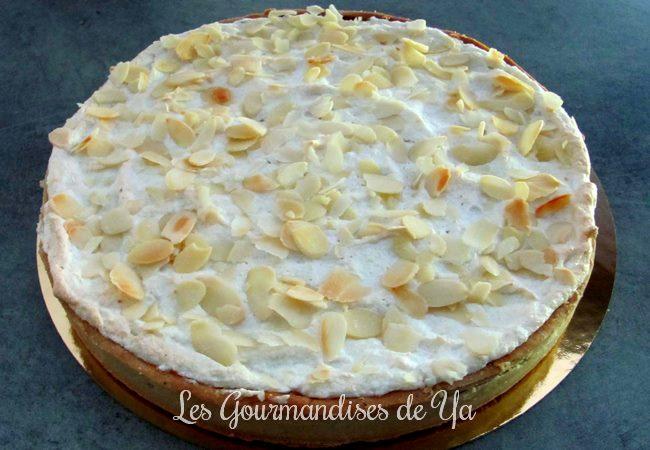 Tarte abricot et amande macaronée LGY 01