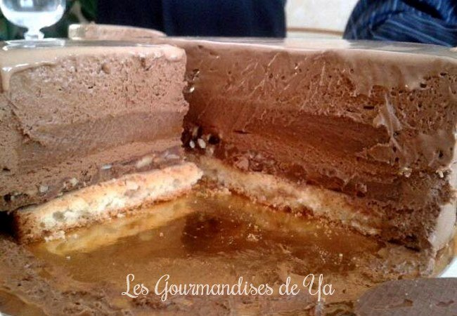 Entremets chocolat - praliné LGY 02