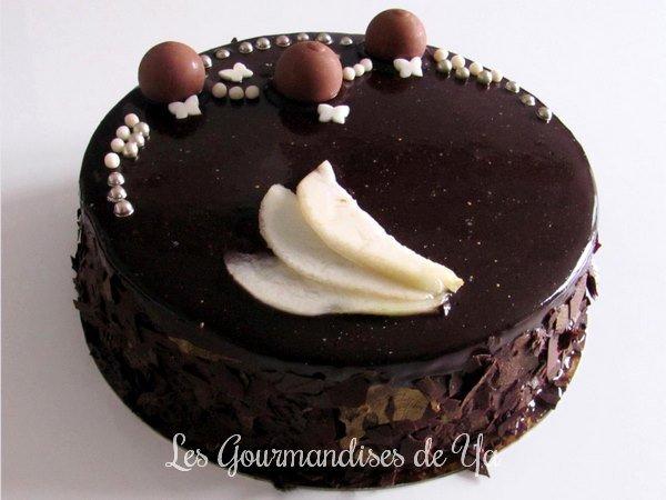 Entremets poire - chocolat LGY