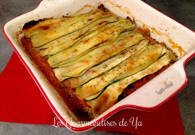 Lasagnes de courgettes et veau (sans pâte) LGY