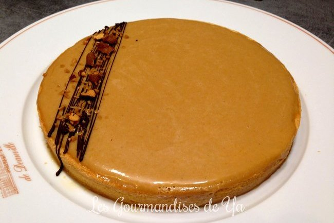 Tarte chocolat au lait, caramel beurre salé et banane LGY 01