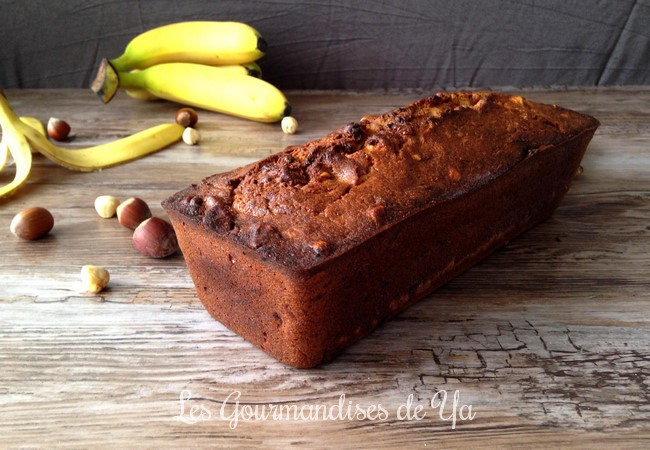 Banana bread noisette et cannelle LGY