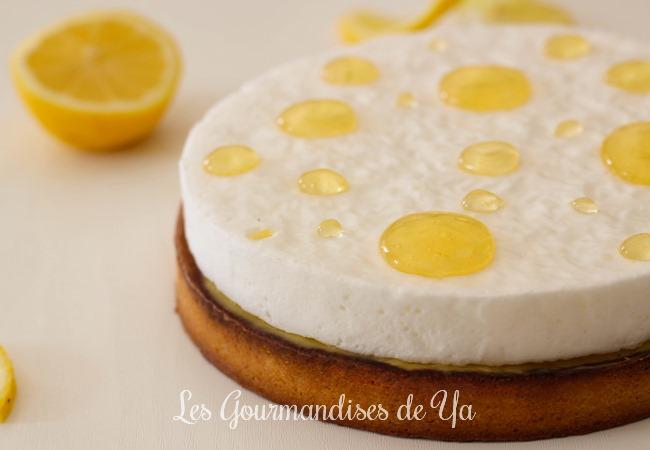 Tarte au citron meringuée d'Arnaud LARHER LGY