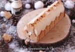 Bûche à l'érable, caramel et poire LGY 02