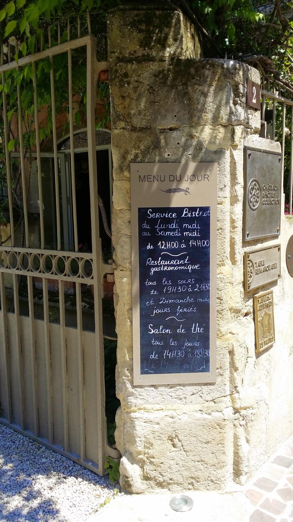 Salon de thé au Clair de Plume.