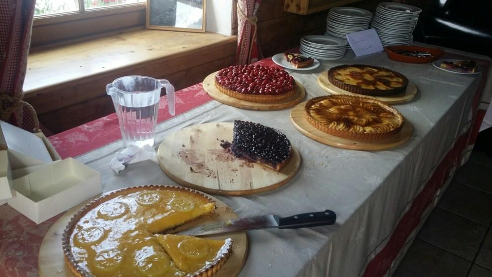 Choix de tartes maisons...