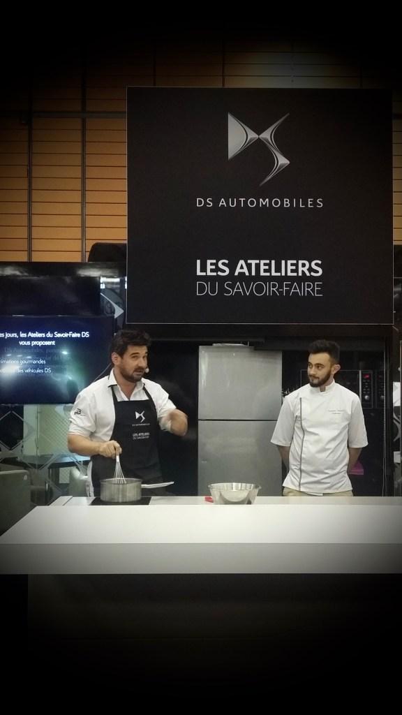 Sébastien Boulliet en plaine démonstration...