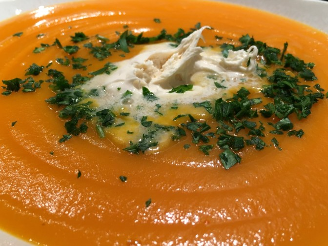 Une bonne soupe de carottes...