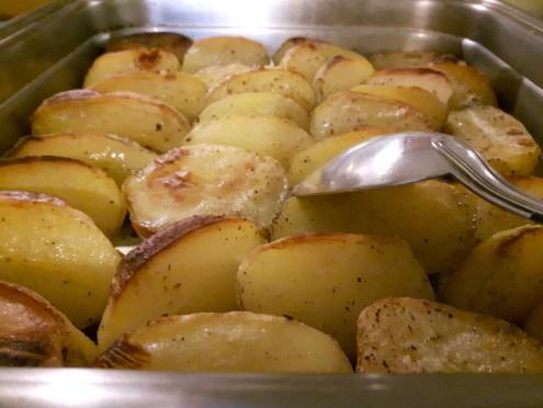 Pommes de terre au four...