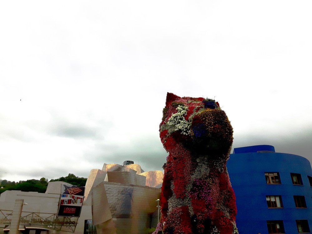 Puppy le chien géant habillé de fleurs de Jeff Koons