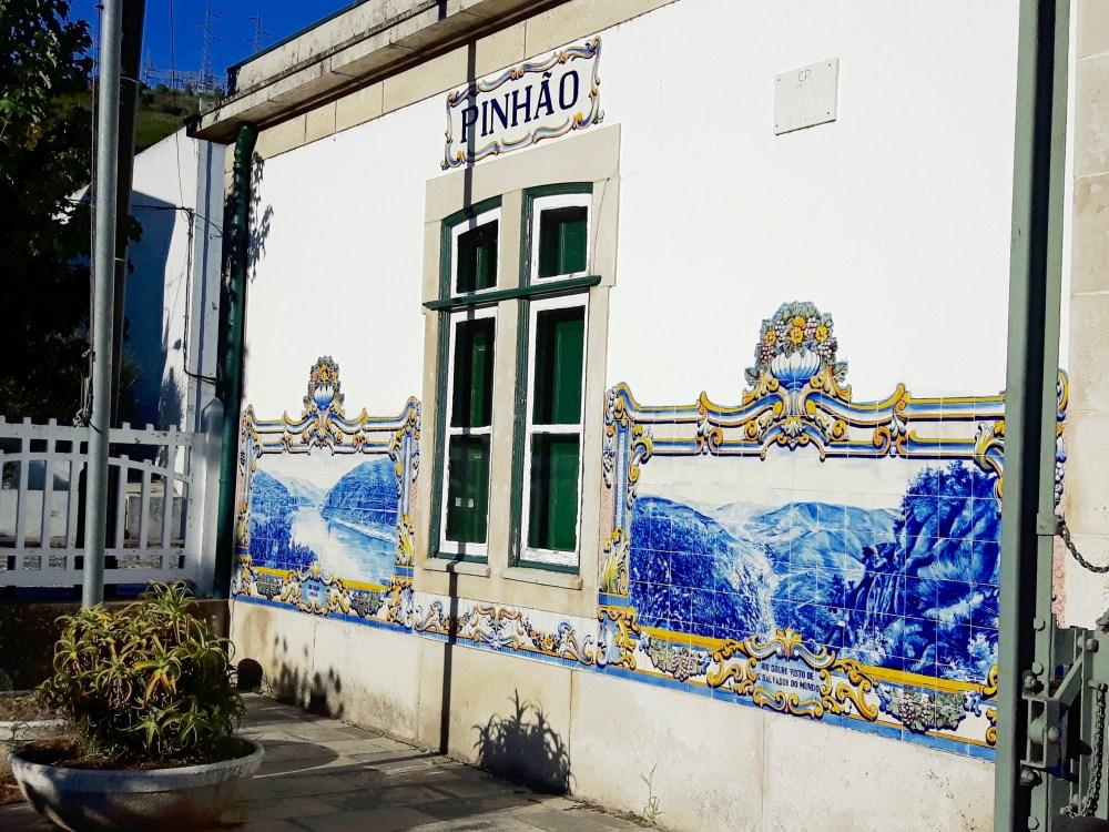 La gare de Pinhão et ses azulejos.