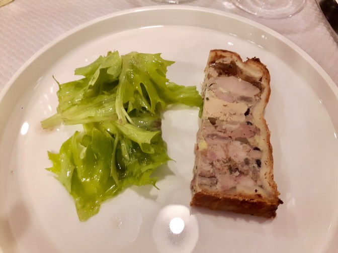 Pâté croûte au foie gras [en mode dégustation].