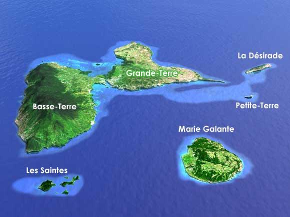 Vue de la Guadeloupe