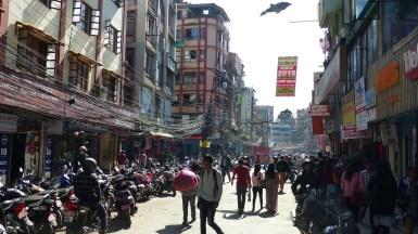 Beaucoup de monde dans les rues