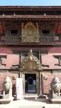 Entrée du musée de Patan