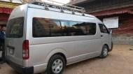 Notre grand van!