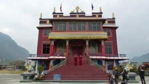 Le monastère tibétain