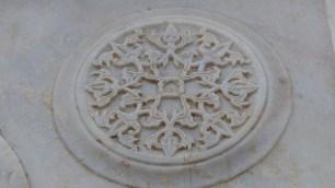 Détail de sculpture du marbre