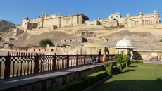 Le fort d'Amber, majestueux