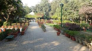 L'entrée aux Lodi Gardens